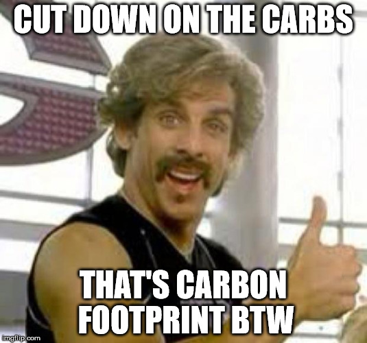cut the carbs save on your monthly utility bills
